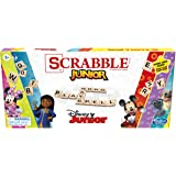 Hasbro Gaming F1237 Scrabble : Disney Junior Edition Double -Sided Game Board, Matching and Word Game (Amazon Exclusive)