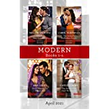 Modern Box Set 1-4 Apr 2021/One Hot New York Night/The Italian's Forbidden Virgin/Bride Behind the Desert Veil/The Secret Tha