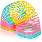 """ArtCreativity Jumbo Square Coil Spring Toy for Kids 