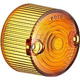 ポッシュ(POSH) ウインカースペアレンズ オレンジ (2個入り) クラシカル/アルミマシンド/A・B・Cキャストシリーズウインカー用 090071SP