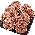 bonbori ( ぼんぼり ) 究極のひき肉で作る ハンバーグ ( 120g × 12個入り / 牛肉100% / プレーン ) 無添加 / 冷凍 / レトルト / 御歳暮 / ギフト (12個(ソース付き))