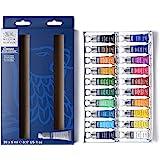 Winsor & Newton Cotman Watercolour-20 X Tube Set, Watercolour, Mulitcoloured, 20 Farben in 5ml Tuben