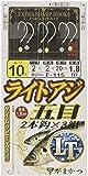 がまかつ(Gamakatsu) ライトアジ五目仕掛 2本鈎 F115 10号-ハリス2. 45762-10-2-07