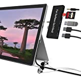 Surface Go/Surface Go 2 Docking Station, 6-in-2 USB C Surface Go/Surface Go 2 Hub Adapter with 3 USB 3.0 Ports, 3.5mm Earphon