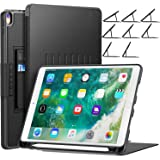 iPad 10.5ケース iPad Pro 10.5ケース iPad Air3 10.5インチ iPad ケース2019 落下衝撃保護 8段階スタンド機能 便利なペンホルダー付き カード収納 防塵 全面保護型 傷つけ防止 (iPad 10.5 2019 Air 3(New 3rd Gen)と2017 Pro 10.5)