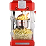 Great Northern Popcorn 83-DT5622 Northern Machine Pop Pup 2-1/2oz Retro Style Popcorn Popper, 2.5 ounce, Red