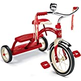 Radio Flyer 8144-182 Classic Red Dual Deck Tricycle 10-12 inches