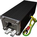 Ethernet Surge Protector PoE+ Gigabit 1000Mbs - LAN Network Thunder Lighting Surge Suppressor/Arrester Protection TP302 ...