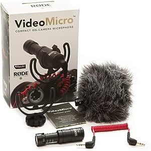 【国内正規品】RODE ロード VideoMicro 超小型コンデンサーマイク VIDEOMICRO