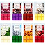 SCENTORINI8 Pack Scented Wax Cubes/Melts - 2.5 oz Hand Poured Wax Infused with Essential Oils. Ideal Weddings, Spa, Reiki, Me