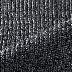 Sloane Wool Rib Crewneck Sweater: Grey