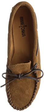 Minnetonka Classic Moc: 913 Dusty Brown