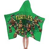 Nickelodeon Teenage Mutant Ninja Turtles Retro Cotton Hooded Bath/Beach/Pool Cape Towel