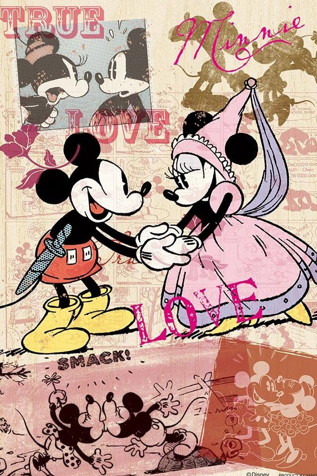 ディズニー ミッキー&ミニー iPhone(640×960)壁紙 画像44558 スマポ
