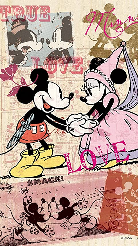 ディズニー ミッキー&ミニー XFVGA(480×854)壁紙 画像47646 スマポ