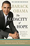 The Audacity of Hope: Thoughts on Reclaiming the American Dr…