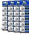LiCB 20個入 CR2032 コイン形 リチウム電池 3V 2032 水銀ゼロシリーズ ボタン電池