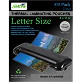 Apache Laminating Pouches, 3 mil (Letter Size, 100 Pack)