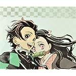 鬼滅の刃 HD(1440×1280) 竈門 炭治郎(かまど たんじろう),竈門 禰󠄀豆子(かまど ねずこ)