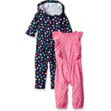 Carter's Baby Girls' 2-Pack One-Piece Romper