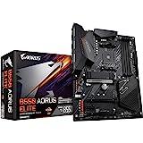 GIGABYTE B550 AORUS Elite (AM4 AMD/B550/ATX/Dual M.2/SATA 6Gb/s/USB 3.2 Gen 2/2.5 GbE LAN/Realtek ALC1200/HDMI/DP/PCIe4.0/DDR