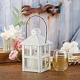 Kate Aspen 14137WT Vintage White Distressed Extra Large Lantern, One Size