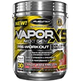 MuscleTech Vapor X5 Next Gen Pre Workout Powder, Explosive Energy Supplement, Candy Watermelon, 30 Servings