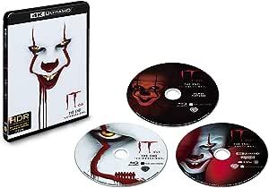 "IT/イット THE END ""それ""が見えたら、終わり。 4K ULTRA HD&ブルーレイセット (初回仕様/3枚組/ボーナス・ディスク付) [Blu-ray]"