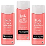 Neutrogena Body Clear Acne Treatment Body Wash with Salicylic Acid Acne Medicine to Prevent Body Breakouts, Pink Grapefruit S