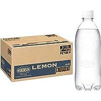 MS+B 「ウィルキンソン タンサン」 レモン 炭酸水 ラベルレスボトル 500ml×24本 [Amazon限定ブランド…