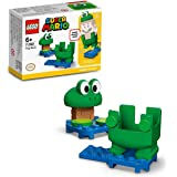 LEGO 71392 Super Mario Frog Mario Power-Up Pack Toy Costume, for Kids 6+ Years Old, Collectible Gift Idea