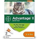 Flea Prevention for Cats, 5-9 lbs, 2 doses, Advantage II