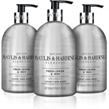 Baylis & Harding Elements Lemon & Mint, 500 ml Hand Wash, Pack of 3