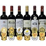 ALLダブル金賞受賞赤ワイン 6本セット フランス ボルドー産 ソムリエ厳選 750ml×6本