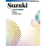 Suzukio Violin School Volume 1 Violin Part (International Edition)
