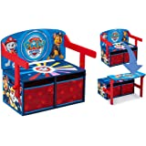 Delta Children Kids Activity Bench, Nick Jr. PAW Patrol