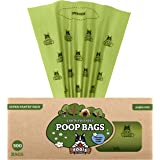 Pogi's Poop Bags - 500 Bags for Pantries - Scented, Biodegradable, Leak-Proof Dog Waste Bags (Single Large Roll)