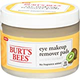 Burts Bees Eye Makeup Remover Pads - Kiwi Extract by Burts Bees for Unisex - 35 Pc Pads, 35 count