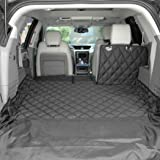 4Knines SUV Cargo Liner for Fold Down Seats - Heavy Duty - 60/40 Split and Armrest Pass-Through Compatible - USA Based Compan