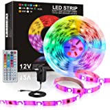 JORAGO LED Strips Lights 7.5-Meter Color Changing 5050 RGB IR Control & AU DC Infrared CE ROHS(SAA Certified)