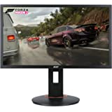 "Acer XFA240 bmjdpr 24"" Gaming G-SYNC Compatible Monitor 1920 x 1080, 144hz Refresh Rate, 1ms Response Time with Height, Pivot"