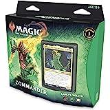 Magic: The Gathering Zendikar Rising Commander Deck – Land's Wrath   100 Card Ready-to-Play Deck   1 Foil Commander   Red-Gre