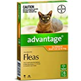 Advantage for Kittens and Small Cats up to 4kg, 6 Pack