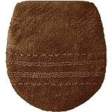 セシール トイレふたカバー ブラウン 普通型 抗菌防臭 トイレ用品 CG-252