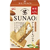江崎グリコ SUNAO スナオ クリームサンド アーモンド&バニラ(1枚あたり糖質4.5g) ×7箱