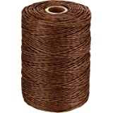 Floral Wire Vine Wire Bind Wire Rustic Wire Wrapping Wire for Flower Bouquets, 673 Feet, Brown