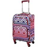Aerolite 22x14x9 American, United & Delta Airlines Ultra Light Carry On Luggage