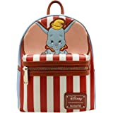 LOUNGEFLY X DISNEY Dumbo Stripe Star of The Show Mini Backpack