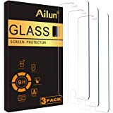 Ailun Screen Protector Compatible iPhone 8 iPhone 7,[4.7inch][3 Pack],2.5D Edge Tempered Glass Compatible iPhone 7/8,Case Fri