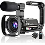 "Video Camera 2.7K Camcorder Ultra HD 36MP Vlogging Camera for YouTube IR Night Vision 3.0"" LCD Touch Screen 16X Digital Zoom"